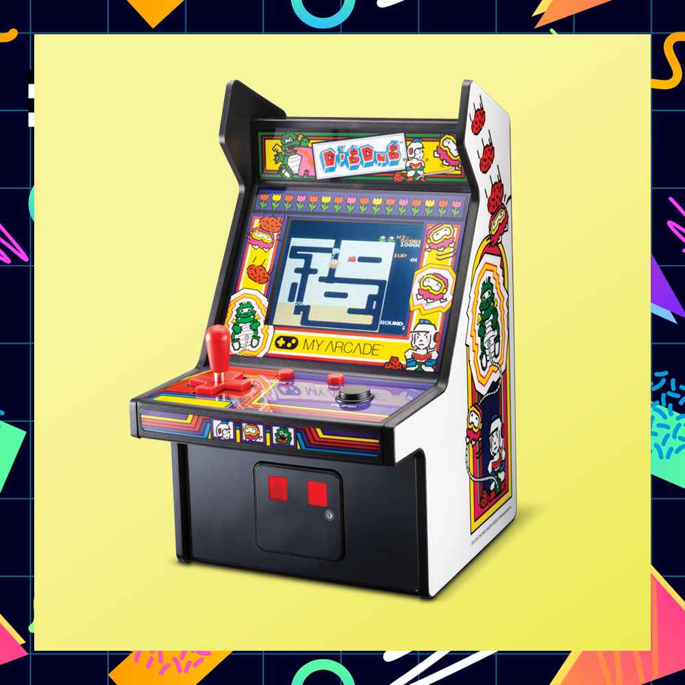 dreamGEAR Micro Player Retro Arcade - Dig Dug