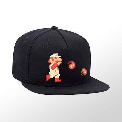Nintendo Super Mario Brimmed Hat - Fire Mario