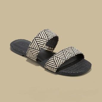 Women's Anniemae Woven Slide Sandal - Universal Thread™