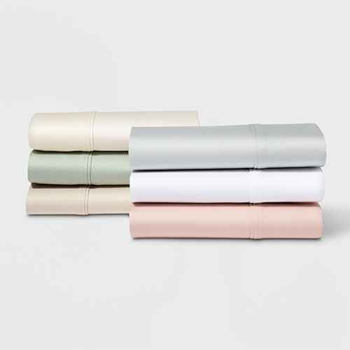 500 Thread Count Tri Ease Solid Pillowcase Set - Project 62™ + Nate Berkus™