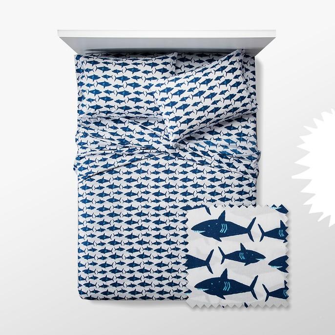 Great White Get-Together Sheet Set - Pillowfort™