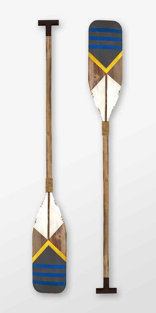 Nautical Oar Wall Decor - Stratton Home Decor