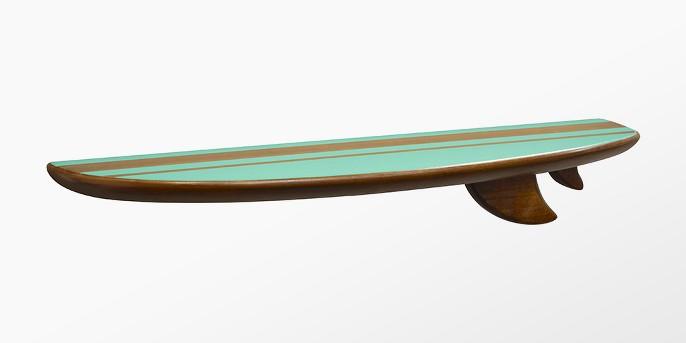 Surf Board Wall Shelf (24
