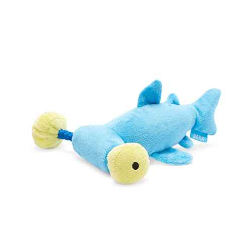 BARK Hammerhead Shark Dog Toy - Hammerin' Hank the Shark