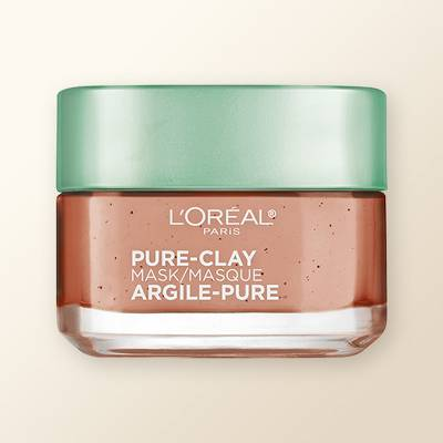 L'Oreal Paris Exfoliate & Refine Pores Pure Clay Mask - 1.7oz