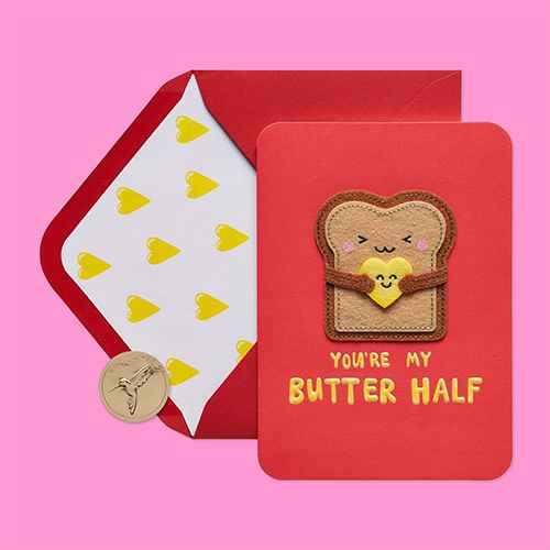 """""""Butter Half"""" Greeting Card - PAPYRUS"""