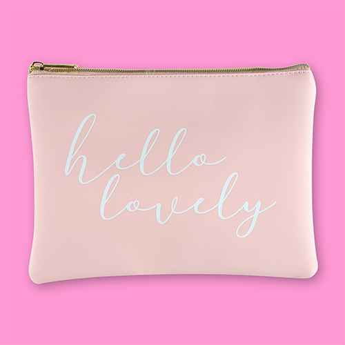 Ruby+Cash Zip Cosmetic Bag - Hello Lovely