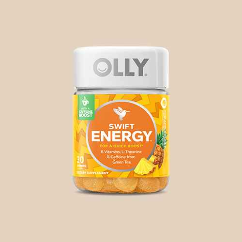 Olly Swift Energy Vitamin Gummies - Pineapple Punch - 30ct