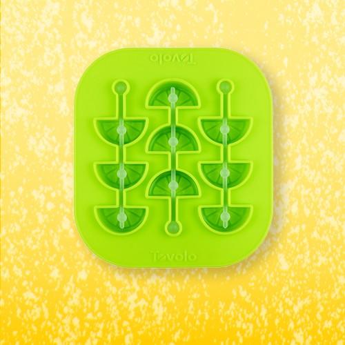 Tovolo Citrus Swizzle Stick Ice Mold Spring Green