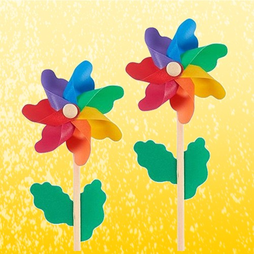 """Pinwheels - Pack of 12, Colorful Pinwheels - Value Pack - Suitable for Garden, Party, Outdoor, Yard, Decoration 
