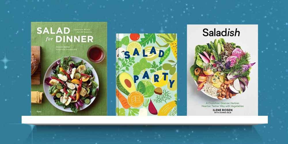 Salad for Dinner - by  Jeanne Kelley (Hardcover), Salad Party - by  Kristy Mucci (Hardcover), Saladish - by  Ilene Rosen (Hardcover)