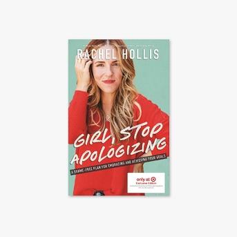 Girl Stop Apologizing by Rachel Hollis - Target Exclusive