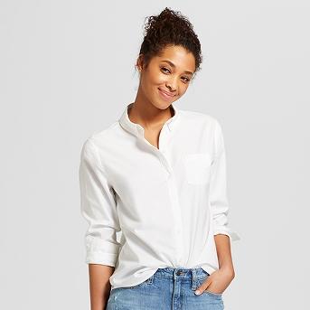 Women's Long Sleeve Camden Button-Down Shirt - Universal Thread™