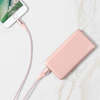 Belkin 5K mAh Pocket Power Portable Power Bank - Rose Gold
