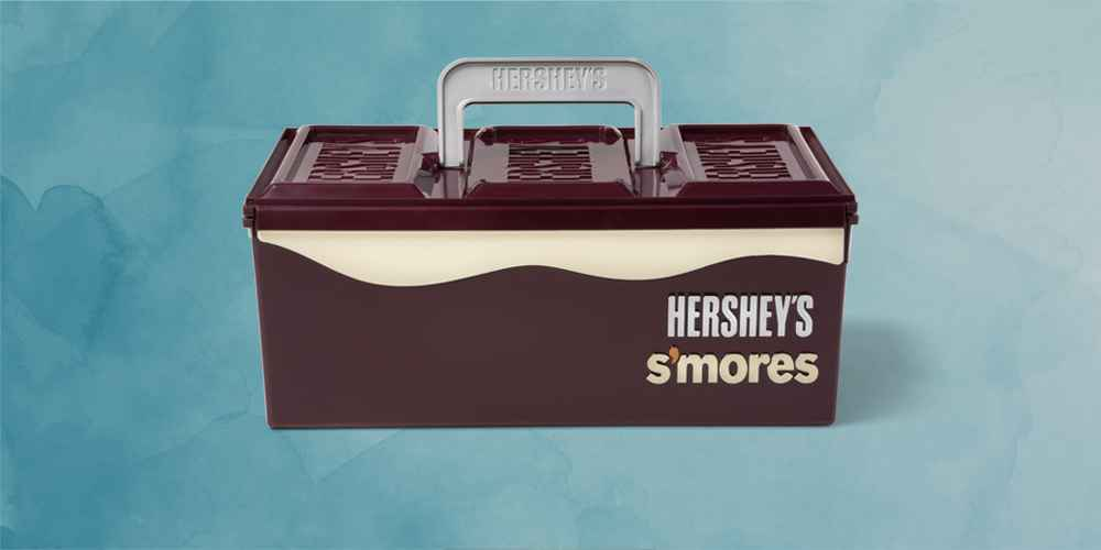 Hershey's S'mores Caddy - Brown