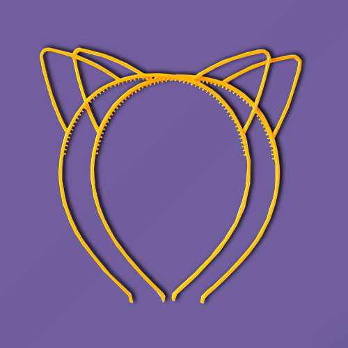 8ct Cat Ear Headbands Halloween Party Favors - Hyde & EEK! Boutique™