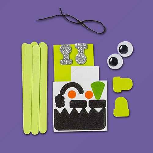 Halloween Stick Character Craft Kit - Mondo Llama™