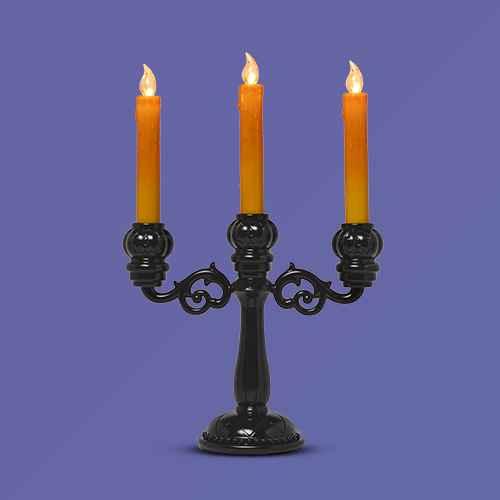 Lit Candelabra Halloween Candle Holder - Hyde & EEK! Boutique™