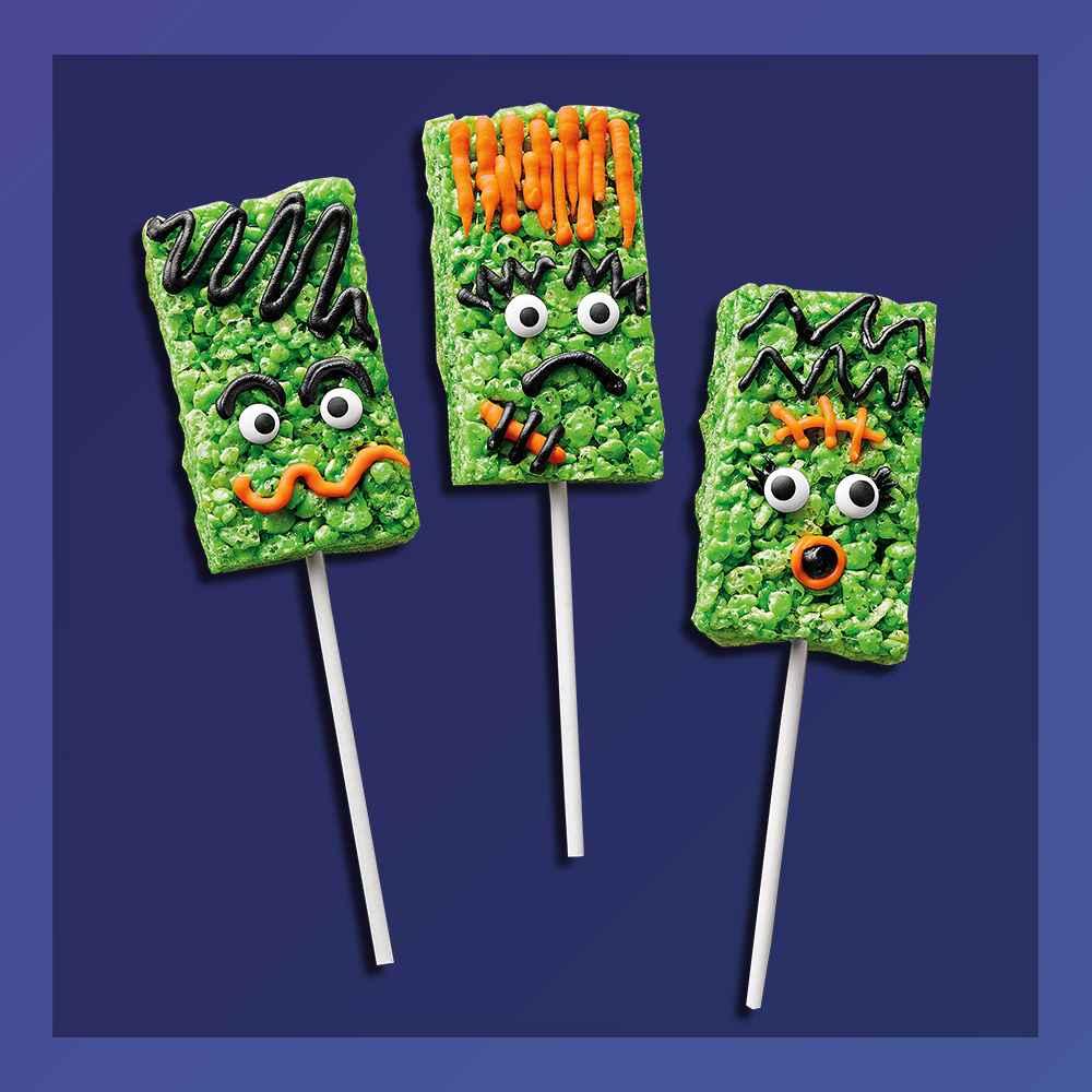 Frankenstein Rice Crispy Treats Kit - 8.96oz - Hyde & EEK! Boutique™, Ghost Meringue Cookie Kit - Hyde & EEK! Boutique™, Halloween Twisted Tavern Chocolate House Cookie Kit - 13.5oz - Hyde & EEK! Boutique™, Monster Tie Dye Sugar Cookie Kit - 10.25oz - Hyde & EEK! Boutique™, Halloween Witches Brew Green Slime Drink Mix in Cauldron - 14oz - Hyde & EEK! Boutique™