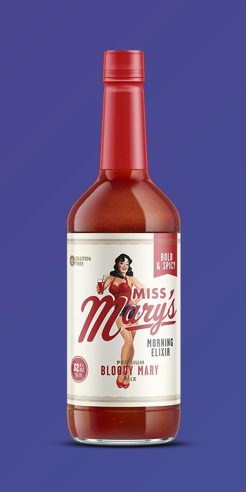 Miss Mary's Bold & Spicy Bloody Mary Mix - 32 fl oz Bottle, Mr & Mrs T Strawberry Daiquiri-Margarita Drink Mix - 1L Bottle, Jose Cuervo Original Margarita Mix - 1.75L Bottle, Mr & Mrs T Original Bloody Mary Drink Mix - 1L Bottle