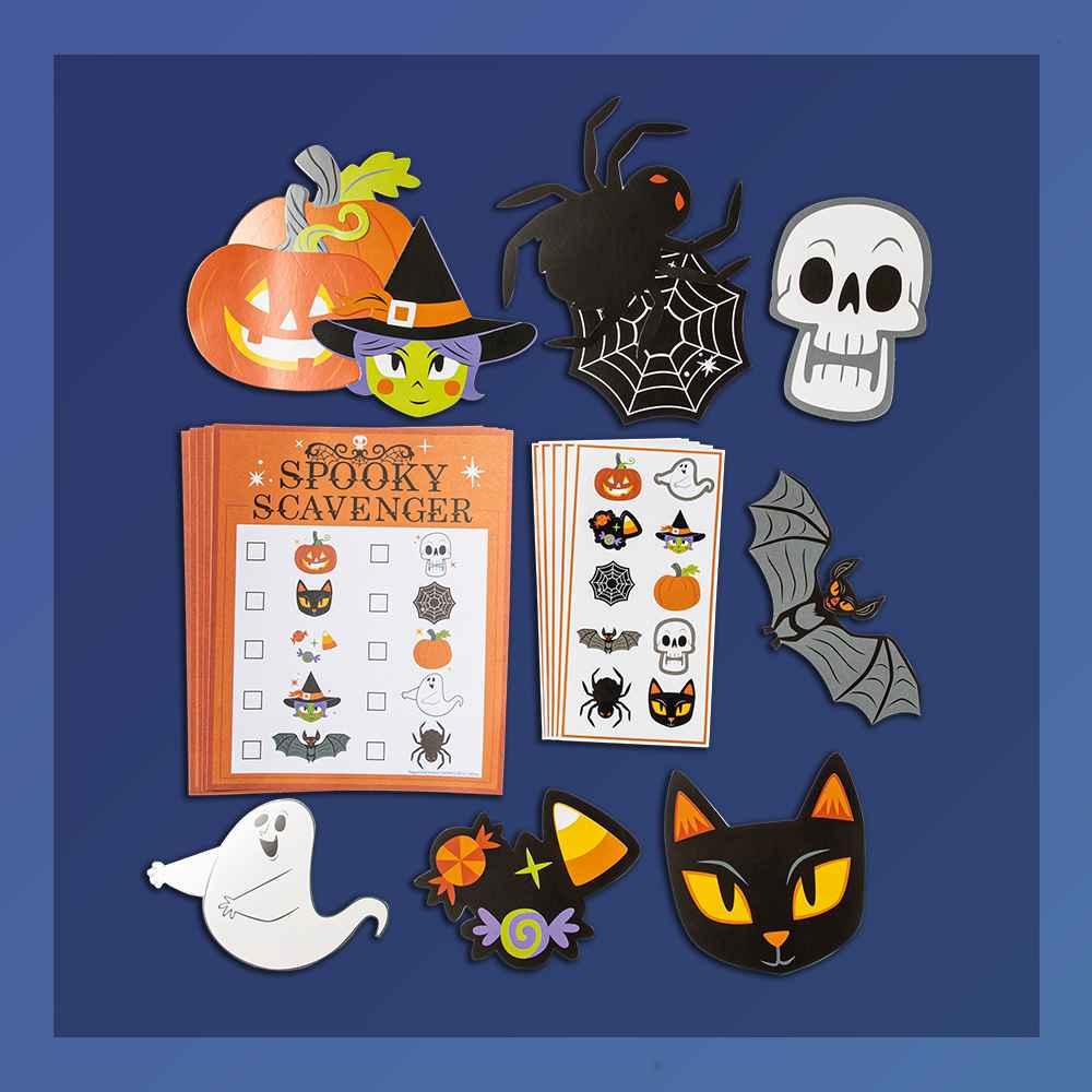 Scavenger Hunt Activity Kit Halloween Party Favor - Hyde & EEK! Boutique™