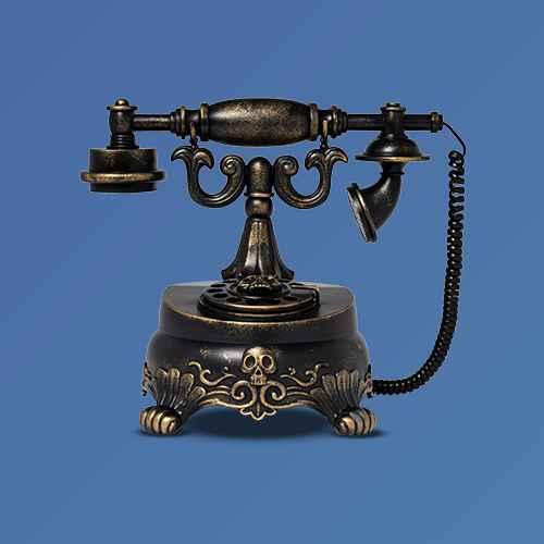 Animated Spooky Victorian Telephone Halloween Decorative Prop - Hyde & EEK! Boutique™