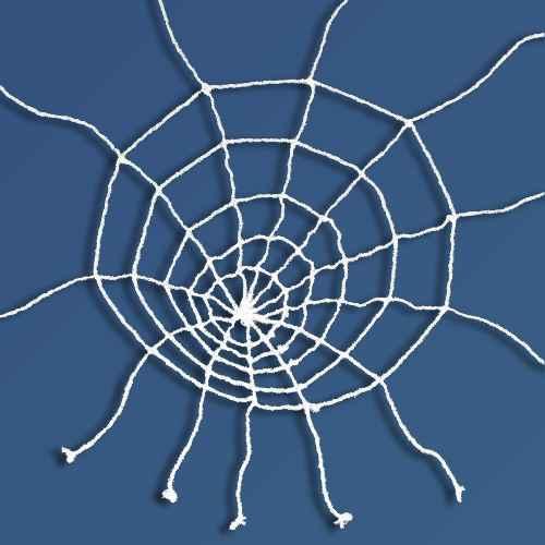 10' Giant Spiderweb Black Halloween Decorative Prop - Hyde & EEK! Boutique™