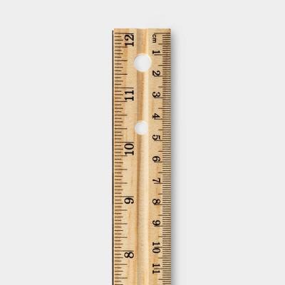 """Staedtler Architects Triangular Scale Mars ALM 12/"""" Silver 987M1831BK"""