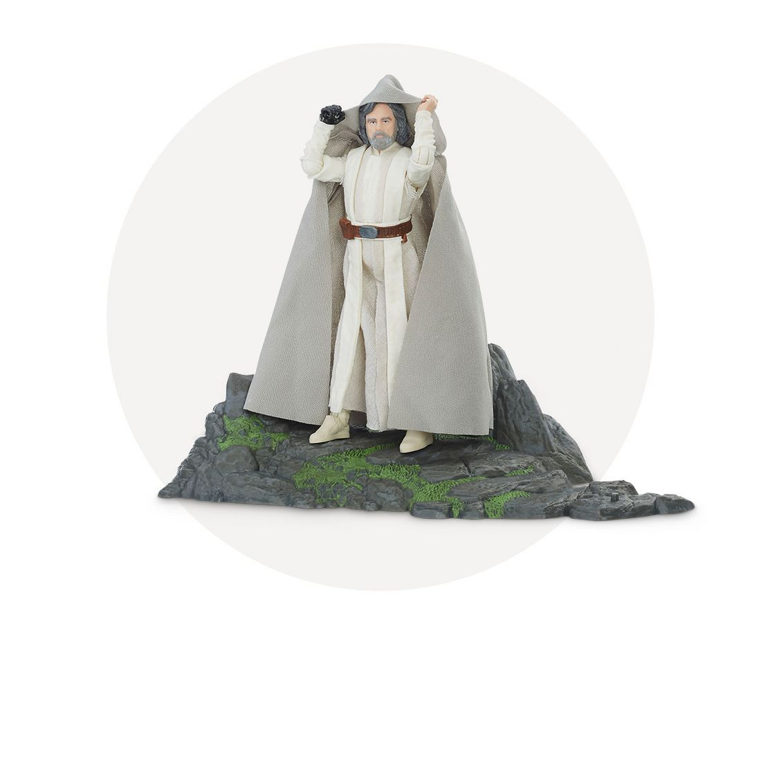 Star Wars The Black Series Luke Skywalker Jedi Master On Ahch To Bott Funko Pop Sw Tlj Porg Island Target