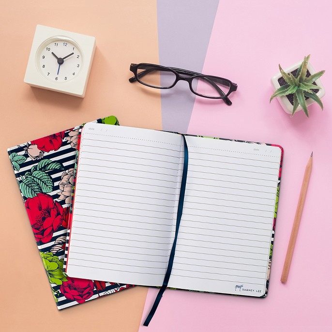 Dabney Lee Journal (240 pages, lined) - Flowers and Stripes, 2pk Mini Living Succulents In Decorative Copper Containers - Livetrends Design, ICU Hercules Omni-Focus Readers