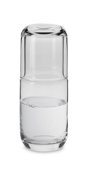 KROSNO Quench 2pc Bedside Water Carafe and Glass 16oz