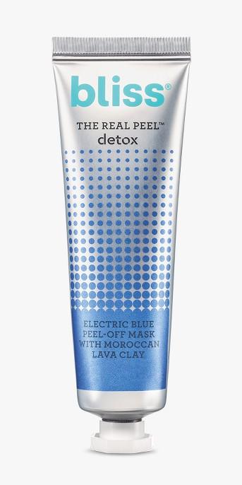 Bliss The Real Peel Detox Mask Facial Treatments - 1oz