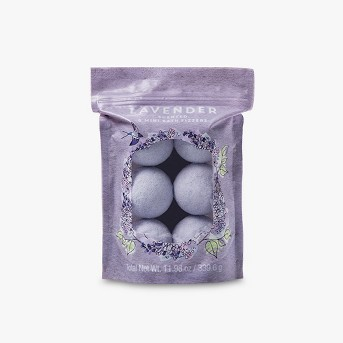 My Spa Life Everyday Indulgences Lavender Bagged Bath Bombs - 6ct