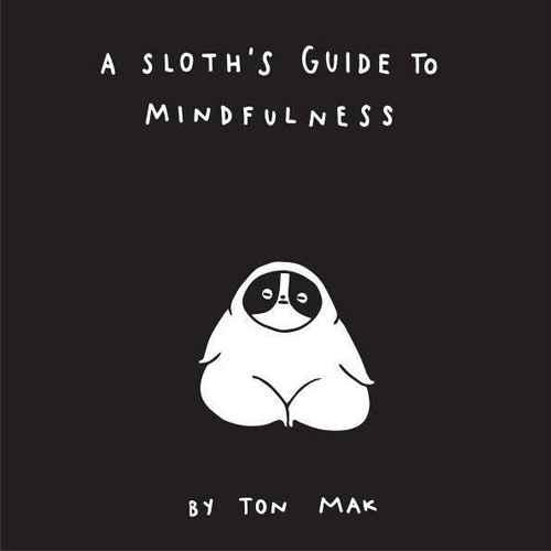 A Sloth's Guide to Mindfulness (Mindfulness Books, Spiritual Self-Help Book, Funny Meditation Books)