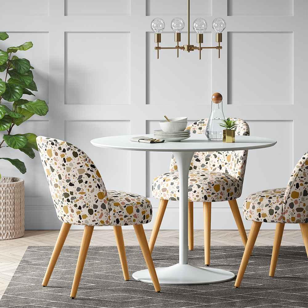 Geller Dining Chair Terrazzo Mustard - Project 62™