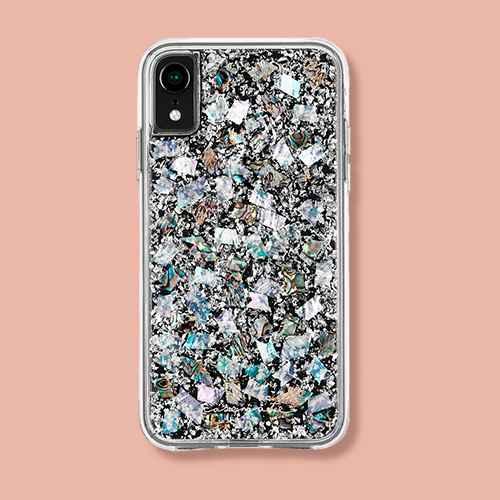 Case-Mate iPhone XR Karat Pearl Case
