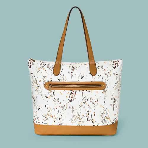 Zip Closure Tote Handbag - A New Day™