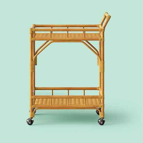 Cassia Rattan Bar Cart - Opalhouse™