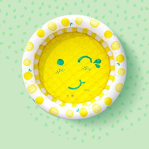 Minnidip Splash of Citrus Minni-Minni Kiddie Pool