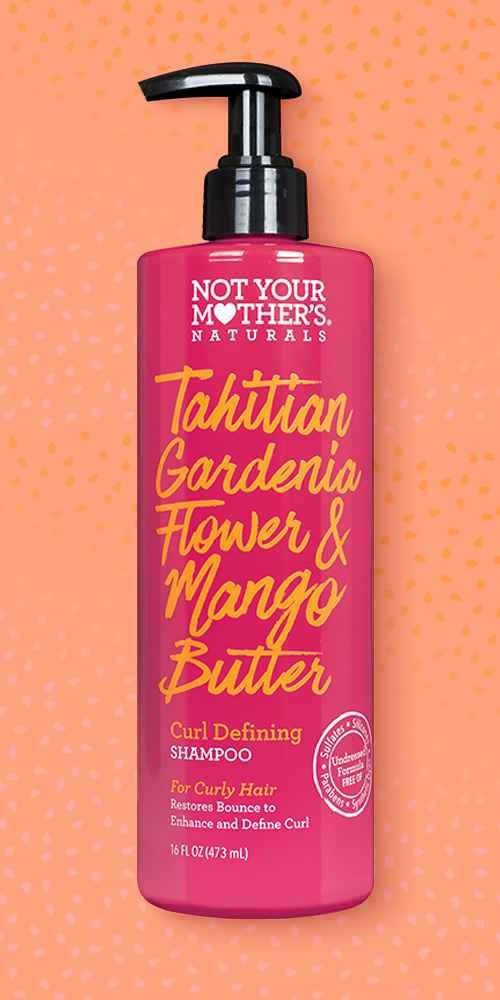 Not Your Mother's Naturals Tahitian Gardenia Flower & Mango Butter Shampoo - 16 fl oz