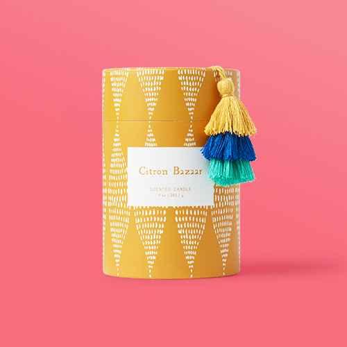 9oz Global Glass Jar Boxed Citron Bazaar Candle - Opalhouse™