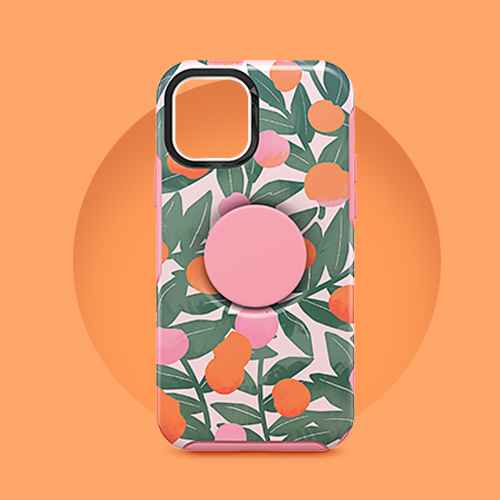 OtterBox Otter+Pop Apple iPhone 12/12 Pro - Stay Peachy
