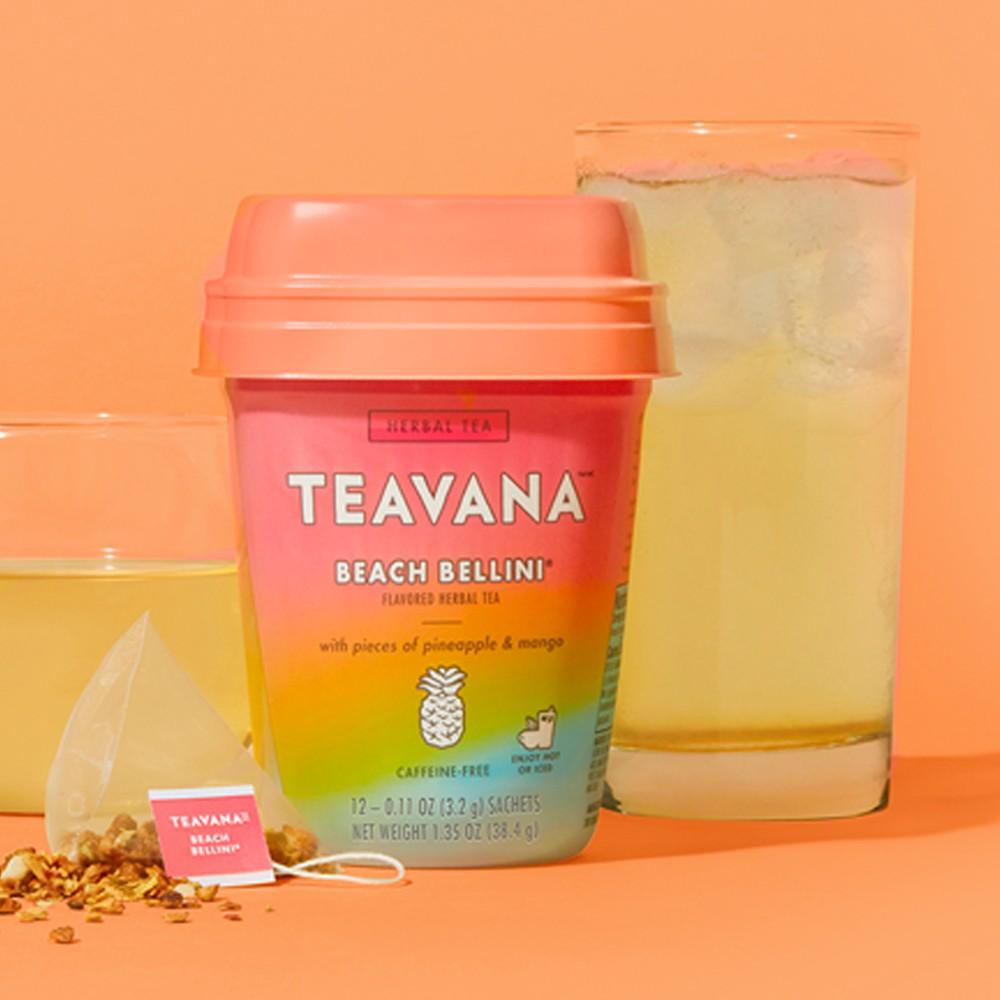Teavana Beach Bellini Tea - 12ct, 16oz Glass Basic Pint Glass - Threshold™, 12oz Glass Short Rioja Tumbler - Made By Design™