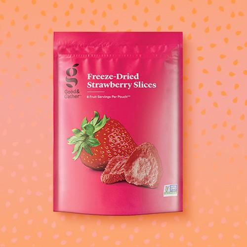 Freeze Dried Strawberry Slices - 2oz - Good & Gather™
