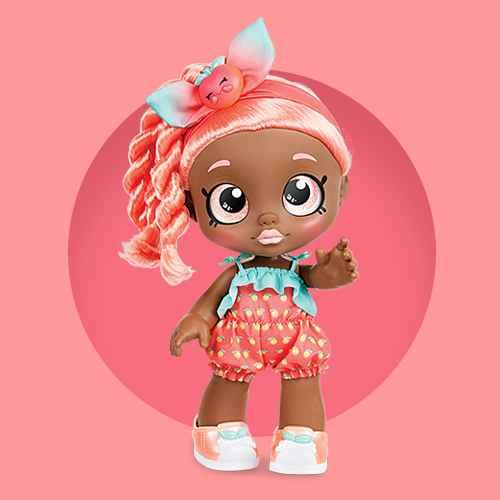 Kindi Kids Snack Time Friend Doll - Summer Peaches