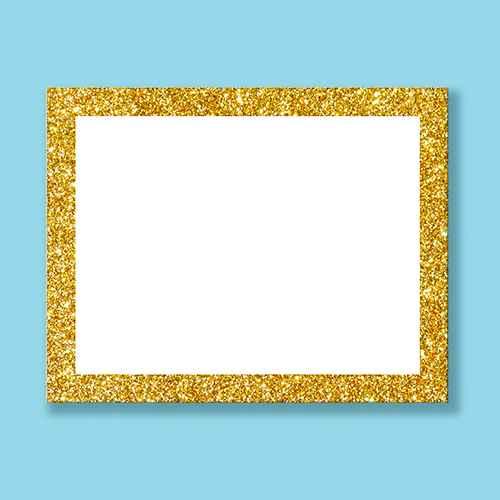 ArtSkills 5pk Glitter Frame Presentation Boards