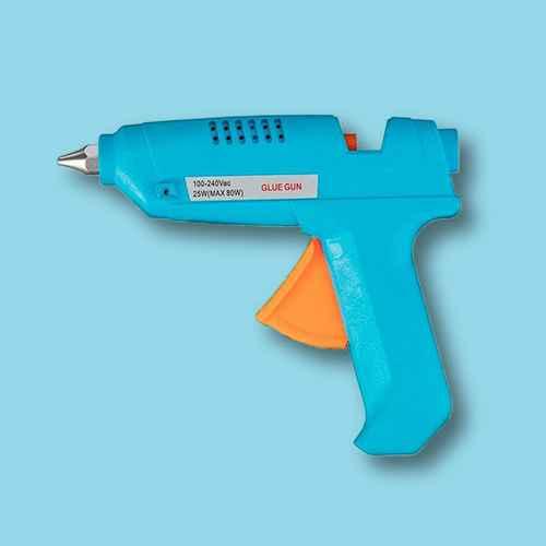 Monoprice 80-Watt Hot Melt Glue Gun with Glue Sticks, For Your Craft, DIY, or Repair Gluing Projects