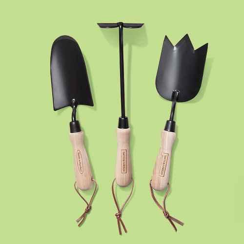 Wood Handle Garden Trowel Brown - Smith & Hawken™, Wood Handle Garden Cultivator - Smith & Hawken™, Wood Handle Garden Dibber Brown - Smith & Hawken™