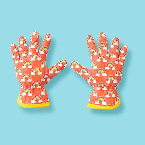 Kid's Gardening Gloves - Peach - Sun Squad™