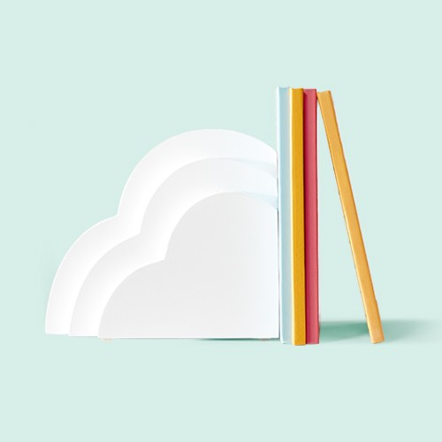 Cloud Bookend White - Pillowfort™
